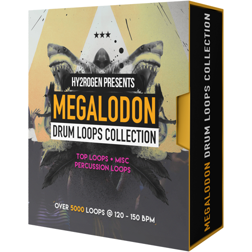 MEGALODON DRUM LOOPS COLLECTION